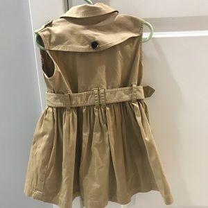 e99cb1232 Burberry Dresses | Kids Sleeveless Trench Dress Size 4y | Poshmark